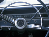Vintage Steering Wheel in Antique Car