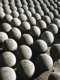Group of Stone Spheres in India