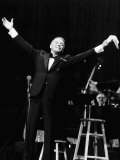 Frank Sinatra at a New York Concert