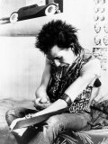 Sid Vicious  of the Punk Group Sex Pistols  Injects Himself with Heroin in 1978