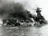 German Pocket Battleship Graf Spee Sinking Following Battle of River Plate in Uruguay  WW2  1940