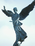 Angelic Statue - Montreal  Quebec  Canada