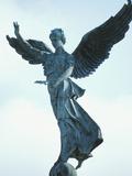 Angelic Statue - Montreal  Quebec  Canada