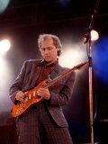 Mark Knopfler of Dire Straits at Nelson Mandela&#39;s 70th Birthday  June 1988