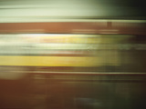 Blur of Passing Subway