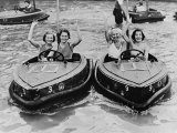 Electric Motor Boats at Dreamland Amusement Park Margate Kent