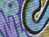 Close-up of Graffiti