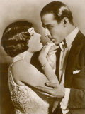 Gloria Swanson American Film Actress with Rudolph Valentino
