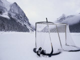 Ice Skating Equipment  Lake Louise  Alberta