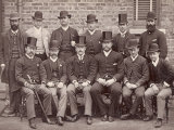 The Australian Cricketing Team of 1888 Pose in Formal Dress