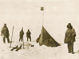 Scott's Team Arrive at the South Pole to Find That Amundsen's Crew Have Beaten Them to It
