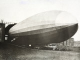 The Dirigible 'Count Zeppelin'