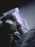 The Hillary Step at Dusk  Nepal