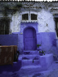 Blue House in Morocco