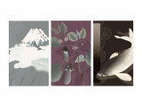 Symbols of Japan Triptych