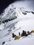 Tents on Southside of Everest  Nepal