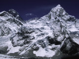 Mount Everest and Ama Dablam  Nepal