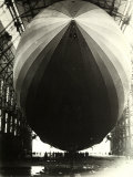The Dirigible 'Zeppelin LZ129' Seen from the Inside of Its Hangar
