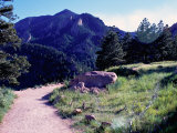 Path to Mountains  Boulder