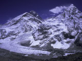 Khumbu Ice Fall Landscape at Everest  Nepal
