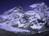 Khumbu Ice Fall Landscape at Everest  Nepal
