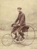 French Gentleman on His Tricycle