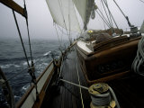 Sailing in Stormy Weather  Ticondergoa Race