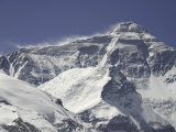 Mount Everest with Plumes  Tibet