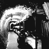 London Underground Tunnels with Bunk Beds  WWII
