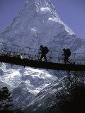 Bridge in Ama Dablam  Nepal