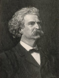 Mark Twain American Writer Creator of Tom Sawyer and Huckleberry Finn