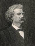 Mark Twain American Writer Creator of Tom Sawyer and Huckleberry Finn