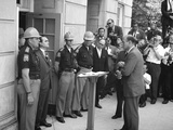 Governor George Wallace Blocks Entrance at the University of Alabama