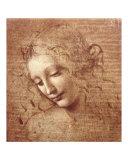 La Scapigliata ou L'Ébouriffée, vers 1508 Reproduction d'art par Leonardo Da Vinci