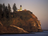 Cape Disappointment Lighthouse  Lewis and Clark Trail  Illwaco  Washington  USA