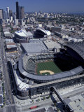 Safeco and Qwest Fields  Seattle  Washington  USA