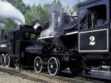 Antique Steam Locomotive  Elbe  Washington  USA