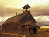 School House on the Ponderosa Ranch  Seneca  Oregon  USA