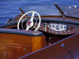 Antique and Classic Boat Society Show on Lake Washington  Seattle  Washington  USA
