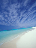 White Sands and Water of Sand Island  Midway Atoll National Wildlife Refuge  Hawaii  USA