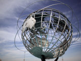 1964-65 World's Fair Unisphere  Corona Meadows Park  Flushing  New York  USA