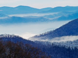 Southern Appalachian Mountains  Great Smoky Mountains National Park  North Carolina  USA