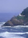 Heceta Head Lighthouse on Heceta Head  Oregon  USA