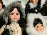 Alaska SeaLife Center  Eskimo Dolls  Seward  Kenai Peninsula  Alaska  USA