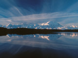Mt McKinley Reflecting In Reflection Pond  Denali National Park  Alaska  USA