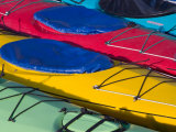 Colorful Kayaks  Alaska  USA