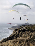 Paragliding  Torrey Pines  California  USA