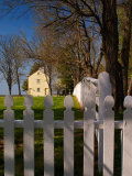 Distinctive Fence of Shaker Village of Pleasant Hill  Kentucky  USA