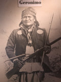 Poster of Geronimo Indian Chief  America's Gunfight Capital  Tombstone  Arizona  USA