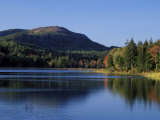 Little Long Pond and Penobscot Mountain  Maine  USA